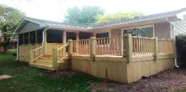 Deck and Porch Combo Bloomington - Normal, IL